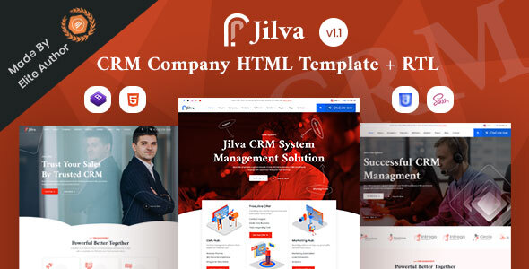 Crm Website Templates From Themeforest