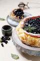Blueberry soft cheese cake - PhotoDune Item for Sale