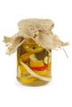 Pickled zucchini in glass jar - PhotoDune Item for Sale