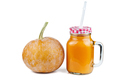 Glass jar with pumpkin mousse - PhotoDune Item for Sale