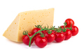 Tomatoes and cheese on a wooden cutting board - PhotoDune Item for Sale
