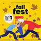 Fall Fest Flyer Set - GraphicRiver Item for Sale