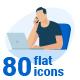Flat Design Concept Illustrations - GraphicRiver Item for Sale