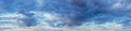 Natural Evening Cloudy Sky Abstract Background. Panorama Panoramic View. Backdrop - PhotoDune Item for Sale