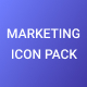 Marketing and Growth icon pack - GraphicRiver Item for Sale