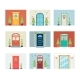 Front Door of House Decorated for Christmas - GraphicRiver Item for Sale