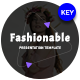 Fashionable Keynote Template - GraphicRiver Item for Sale