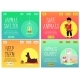 Set of Websites of Animal Shelter and Charity Flat - GraphicRiver Item for Sale