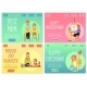 Set of Site Homepages for Mothers and Children Day - GraphicRiver Item for Sale