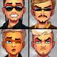 Avatar Creator Man Bundle sets 1-10 - GraphicRiver Item for Sale