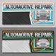 Vector Banners for Automotive Repair - GraphicRiver Item for Sale
