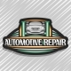 Vector Logo for Automotive Repair - GraphicRiver Item for Sale