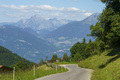 Mountain landscape along the road to Crocedomini pass - PhotoDune Item for Sale