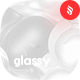 Glassy - White Metaball Backgrounds - GraphicRiver Item for Sale