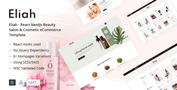 Review: Eliah - React NextJs Beauty Salon & Cosmetic eCommerce Template free download Review: Eliah - React NextJs Beauty Salon & Cosmetic eCommerce Template nulled Review: Eliah - React NextJs Beauty Salon & Cosmetic eCommerce Template