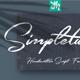 Simpletune - Handwritten Script Font - GraphicRiver Item for Sale