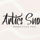 Artics Snow - Handwritten Font - GraphicRiver Item for Sale