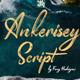 Ankerisey - Handwritten Font - GraphicRiver Item for Sale