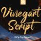 Vinegart - Handwritten Font - GraphicRiver Item for Sale