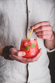 Glass of watermelon cocktail - PhotoDune Item for Sale