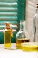 Olive oil in glass bottles - PhotoDune Item for Sale