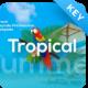 Tropical Travel Keynote Presentation Template - GraphicRiver Item for Sale