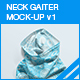 Neck Gaiter Mock-up v1 - GraphicRiver Item for Sale