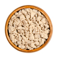 Crumbled fresh bakers yeast, crushed with fingers in a wooden bowl - PhotoDune Item for Sale
