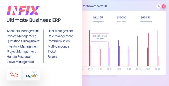 InfixBiz - Open Source Business Management ERP Download