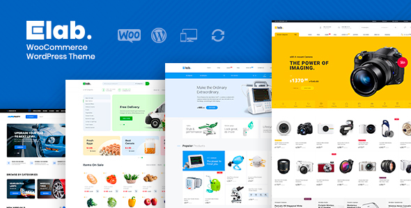eLab - WooCommerce Marketplace WordPress Theme