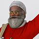 Santa Claus Ho Ho Ho - 3DOcean Item for Sale