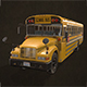 School Bus - Low Poly - 3DOcean Item for Sale