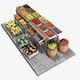 Fruit Stand Market - 3DOcean Item for Sale