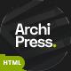 ArchiPress - Architecture - ThemeForest Item for Sale