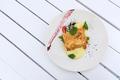 Salmon dish with asparagus and potato puree - PhotoDune Item for Sale