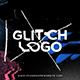 Glitch Distortion Logo Intro - VideoHive Item for Sale