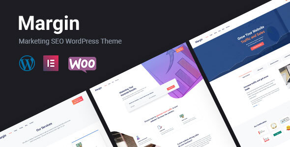 Margin | Elementor Marketing & SEO WordPress Theme