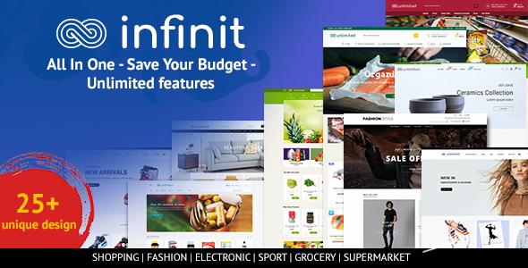 Infinit - Multipurpose Responsive Shopify Theme