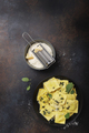 traditional Italian ravioli with butter, sage and cheese - PhotoDune Item for Sale