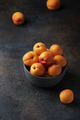 sweet apricots in a dark background - PhotoDune Item for Sale