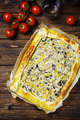 Homemade vegetarian tart with ricotta, paprika and zucchini - PhotoDune Item for Sale