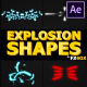 Explosion Shapes | After Effects - VideoHive Item for Sale