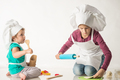 Cute little kids in a cook's suit - PhotoDune Item for Sale