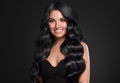 Black hair woman beauty long curly hairstyle - PhotoDune Item for Sale