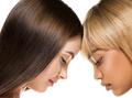 African caucasian beauty women two portrait. Clean skin ethnic concept - PhotoDune Item for Sale