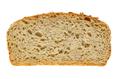 Slice of spelt bread, brown sourdough bread, from above - PhotoDune Item for Sale
