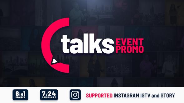 Talks Event Promo
