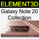 Samsung Galaxy Note 20 Collection - 3DOcean Item for Sale