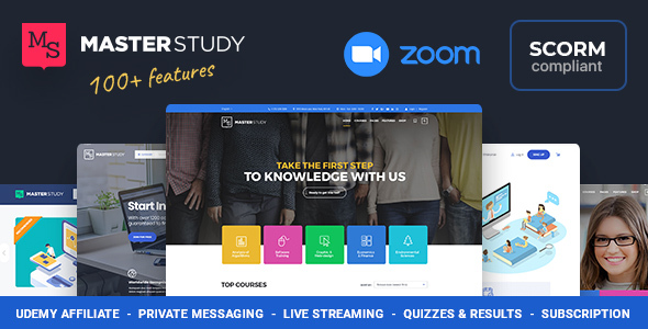 Education WordPress Theme - Masterstudy 1
