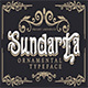Sundarta   Vintage Typeface - GraphicRiver Item for Sale